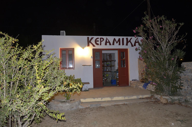 Anna Cermaist Workshop Aegiali Amorgos Cyclades Greece